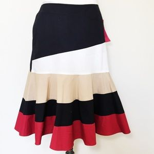 Sunny Leigh Gypsy Rose Circle midi skirt tiered